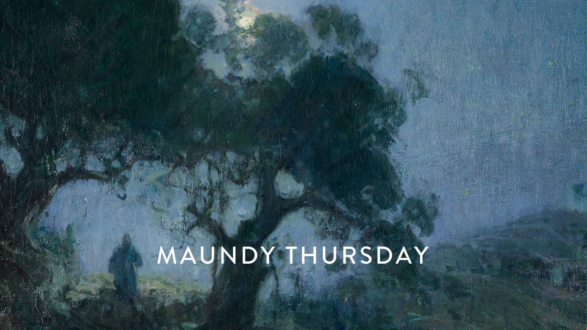 Maundy Thursday: Peace I Give You Meditation